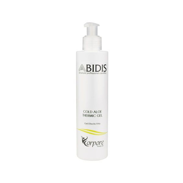Cold Aloe Thermic Gel Abidis - Cold Efect -  200ml
