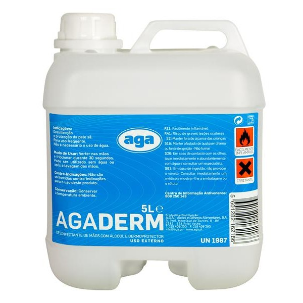 Agaderm Dermoprotection Disinfectant - 5L