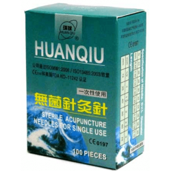 Acupuncture needles without guide - 100 units