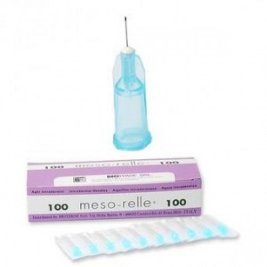 Luer Mesotherapy Needles - 31G - 12mm