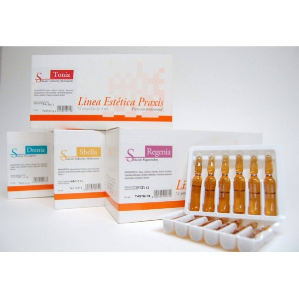 Mesotherapy Ampoules – Toning and Draining Solution