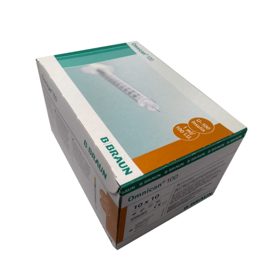 Omnican Insulin Syringes 1ml - 100 units