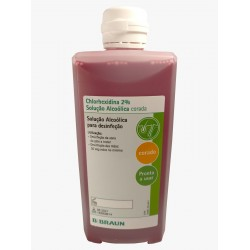 Chlorhexidine 2% Alcoholic Solution - 500ml.