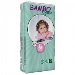 Diapers Bambo Nature - Size 6 -XL - 44 units