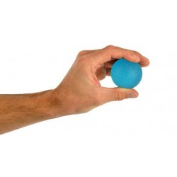 Silicone Exercise Balls - Blue Ball - Firm