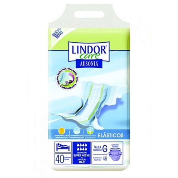 Lindor Care - Diapers - Maxi - Size M - 40 units