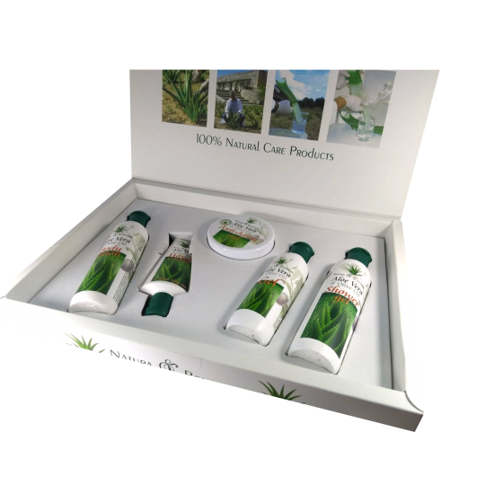 Aloe and Vera Beauty Kit - 5 Articles
