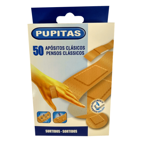 Assorted First Aid Plasters – 50 units