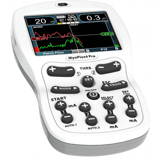 Neurotrac Myoplus 4 Pro -  Electrostimulation and Biofeedback