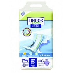 Lindor Care - Diapers - Super - Size L - 40 units