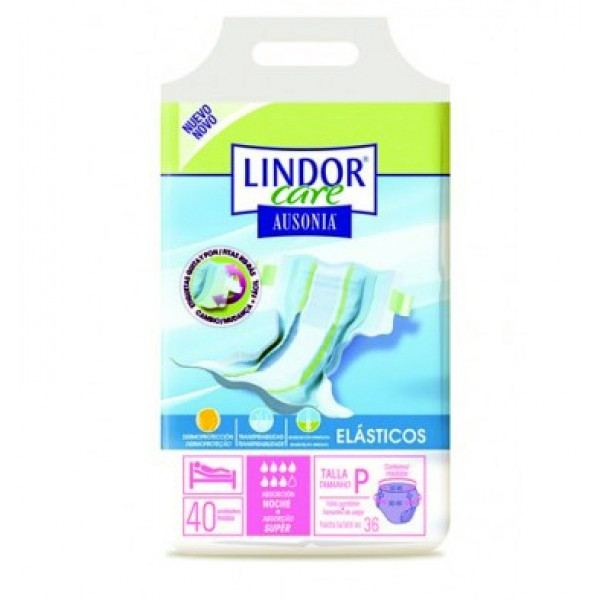 Lindor Care - Diapers - Super - Size S - 40 units