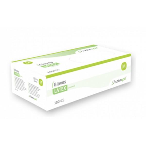 Luvas de Látex - Com Pó - 100 unidades
