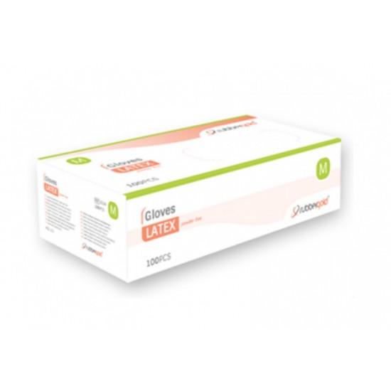 Latex Gloves - Powder-Free - 100 units
