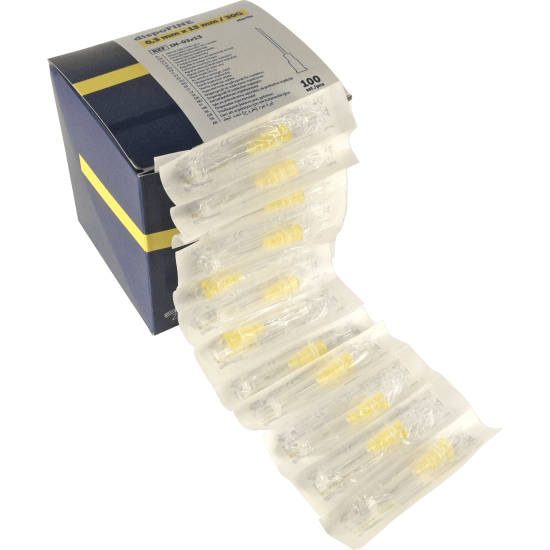Sterilized Needles - 30G x 1 1/2'' - 0,3x13mm - 100 units