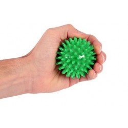 Rehabilitation Balls with Spikes - Green Ball - 7cm