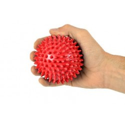 Rehabilitation Balls with Spikes - Red Ball - 9cm