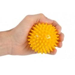Rehabilitation Balls with Spikes - Yellow Ball - 8cm