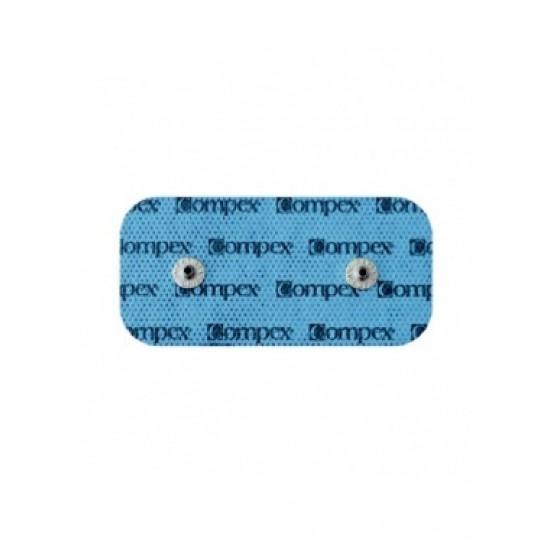 Compex EasySnap Electrodes - 5x10cm (2 connections) - 2 units