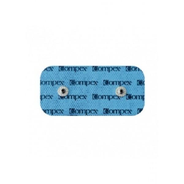Elétrodos Compex EasySnap - 5x10cm (2 ligações) - 2 unidades