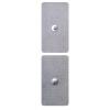 Elétrodos Adesivos Gelificados com Mola - 5x10cm - 4 unidades