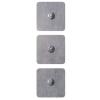 Elétrodos Adesivos Gelificados com Mola - 5x5cm - 4 unidades