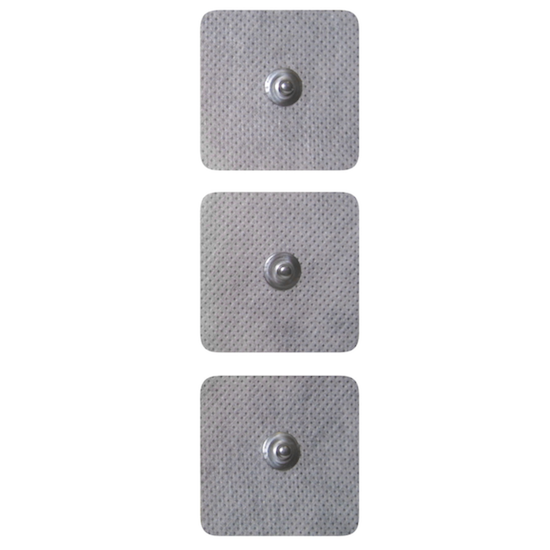 Adhesive Pre-Gelled Electrodes Snap - 5x5cm - 4 units