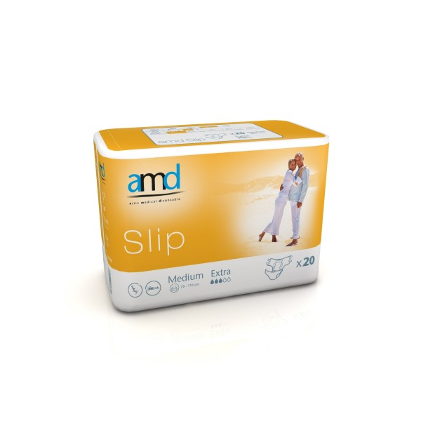Diapers AMD - Slip Extra - Medium Size - 20 units