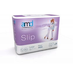 Diapers AMD - Slip Maxi - Large Size - 20 units