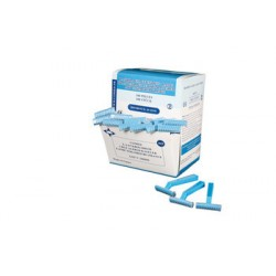 Box of 10 boxes of Disposable Razors - 1 Blade - 100 units
