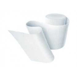 Ligadura Elástica Adesiva Superplast - Adesivo Exterior - 7,5cm x 4,5m (tipo Elastoplast)