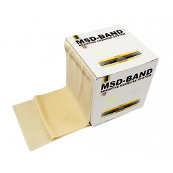 MSD-Band Tan - Extra Thin - 14cm x 5,5m (like Theraband)