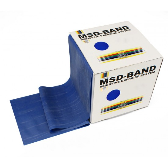 MSD-Band Blue - Extra Heavy - 14cm x 5,5m (like Theraband)