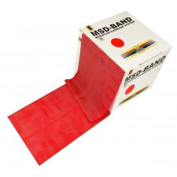 MSD-Band Red - Medium - 14cm x 5,5m (like Theraband)