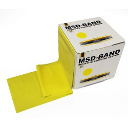 MSD-Band Yellow - Thin - 14cm x 5,5m (like Theraband)