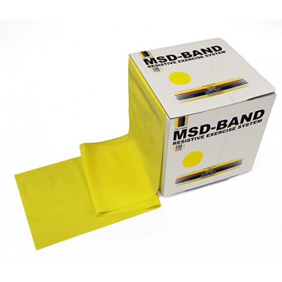 MSD-Band Yellow - Thin - 14cm x 5,5m (like Theraband)