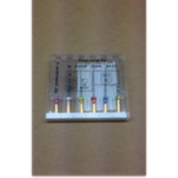 Endodontics Files - Ni-Ti - Engine Use (Protaper type) - 6 units