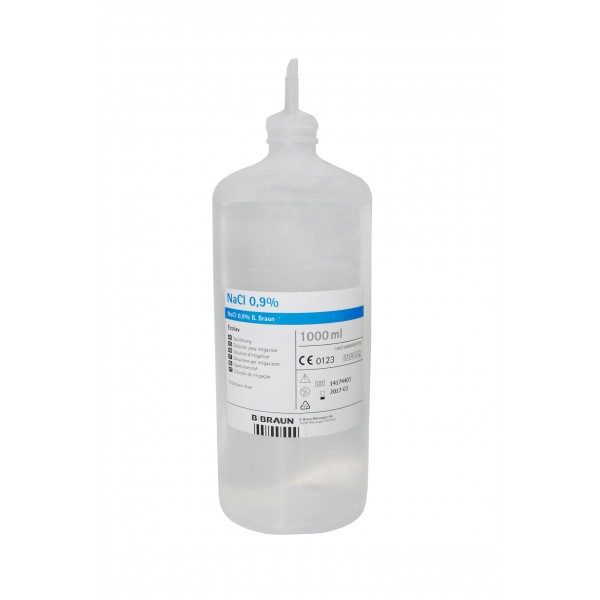 Irrigation Physiological Saline Ecolav B. Braun - 1L