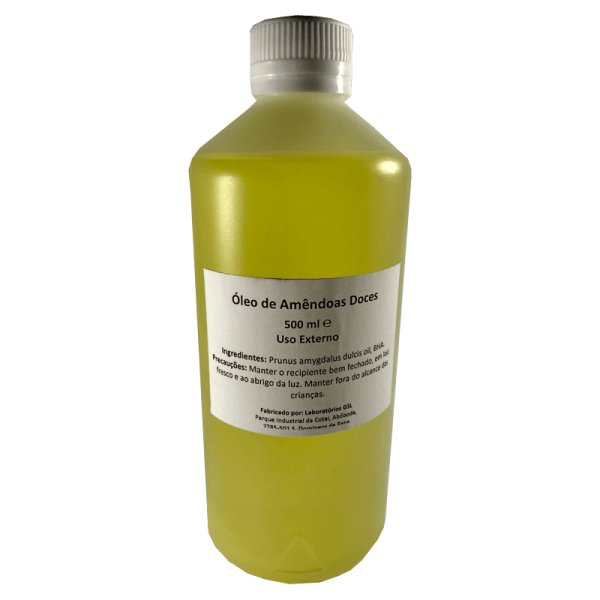 Sweet Almond Oil - 500ml