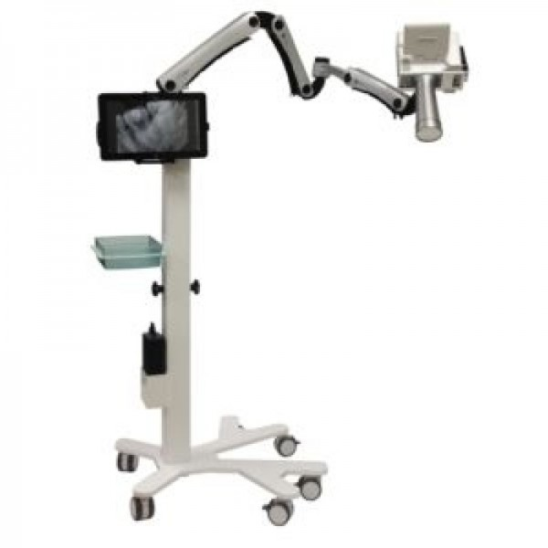 Portable Mobile X-ray Cart with Arm