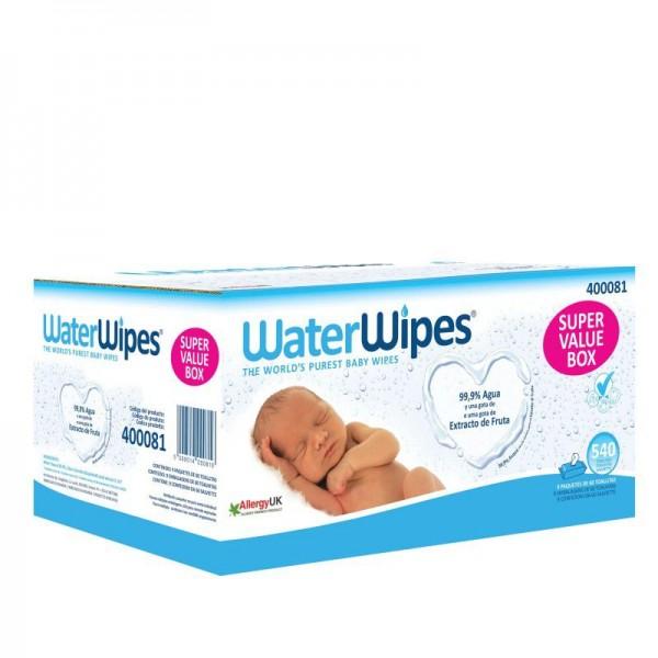Waterwipes Baby Wipes Box –9x60 units